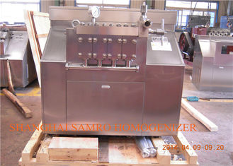 Industrial New Condition Juice two stage homogenizer Machine , 7000 L/H