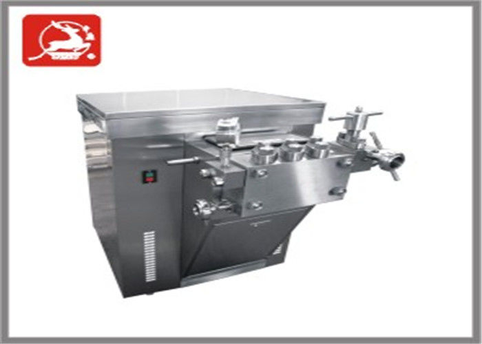 Food Sanitary High Pressure Homogenizer , 40 Mpa manual homogenizer