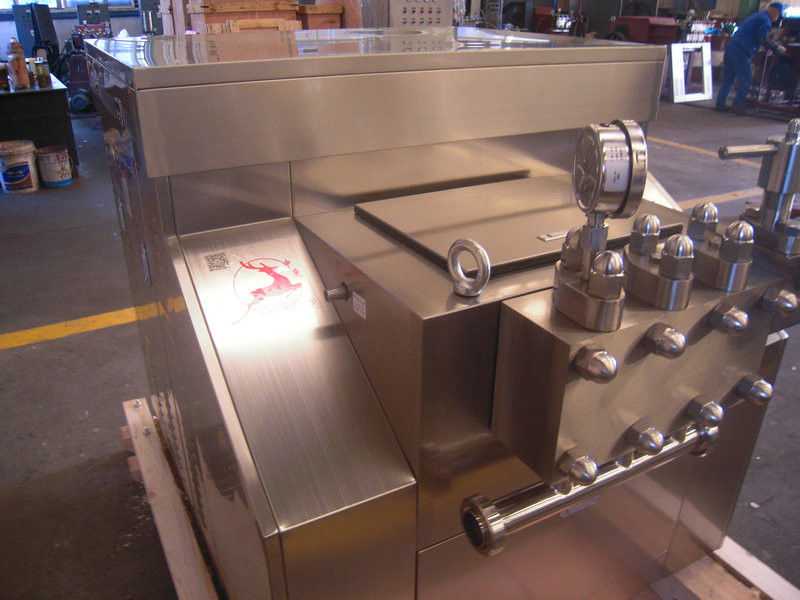 Stainless Steel Mechanical Homogenizer For Food And Drink , Chemical